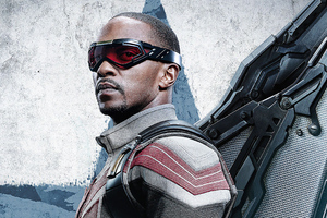 Anthony Mackie As Falcon In The Falcon And The Winter Soldier 4k