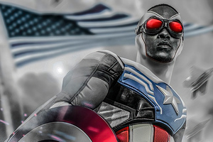 Anthony Mackie From Captain America 4k Wallpaper