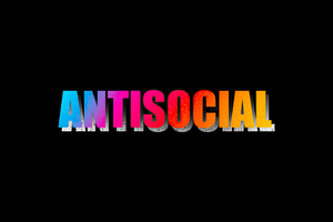 Antisocial Wallpaper