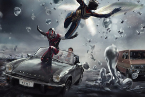 Antman 4k Wallpaper