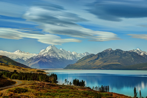 Aoraki Mount Cook New Zealand 8k Wallpaper