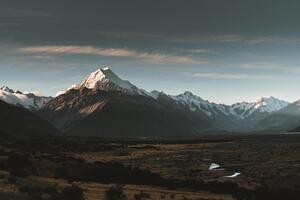 Aoraki Sunset New Zealand 8k Wallpaper