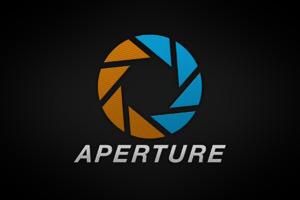 Aperture Brand Logo Wallpaper
