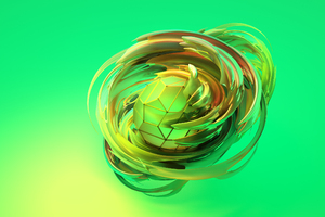 Apple Abstract 3d Wallpaper