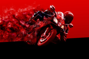 Aprilia Bike Art Wallpaper