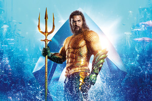 Aquaman 12k Wallpaper