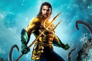 Aquaman 2 Poster Design Wallpaper