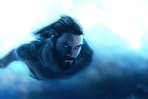 Aquaman 2020 Artwork
