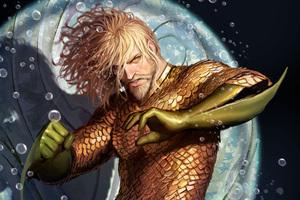 Aquaman 4k Artwork Wallpaper