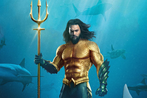 Aquaman 5k Movie Poster