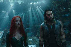 Aquaman And Mera 2018 Wallpaper
