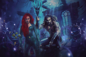 Aquaman And Mera New
