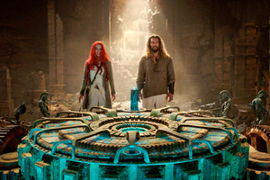 Aquaman And Mera Still From Movie