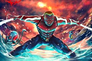 Aquaman Art 4k