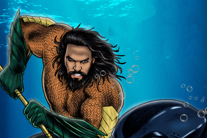 Aquaman Artworks