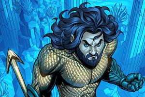 Aquaman Dccomic Fanart Wallpaper