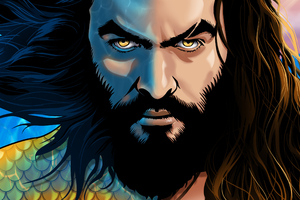 Aquaman Half Atlantean Wallpaper