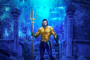 Aquaman Jason Momoa 4k New