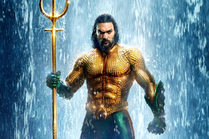 Aquaman Movie 2018 New Poster Wallpaper