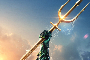 Aquaman Movie Brand New Poster