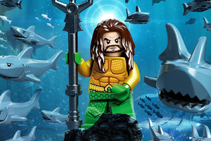 Aquaman Movie Lego