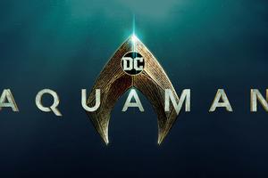 Aquaman Movie Logo Wallpaper
