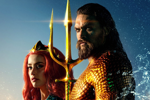 Aquaman Movie Official Poster Wallpaper