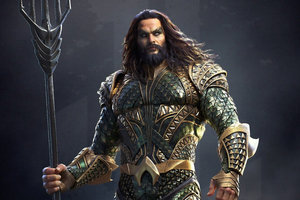 Aquaman New Art 4k Wallpaper