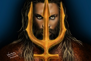 Aquaman Newart Wallpaper