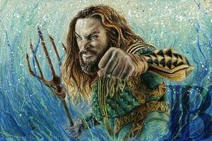 Aquaman Portrait Wallpaper