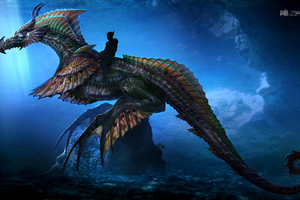 Aquaman Sea Dragon Concept Art 10k Wallpaper