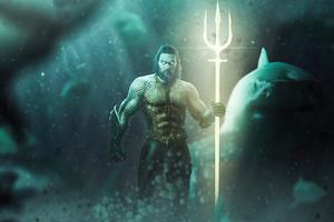 Aquaman Underwater 4k
