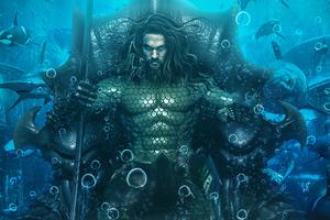 Aquaman Underwater