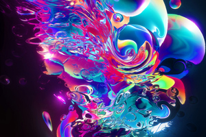 Aqueous Abstract Art