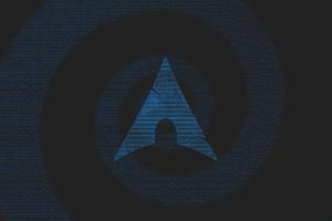 Arch Linux Minimalism 4k Wallpaper