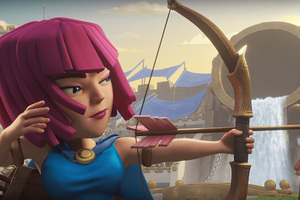 Archer Clash Of Clans Hd Wallpaper