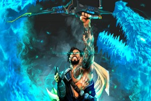 Archer Dragon Hanzo Overwatch