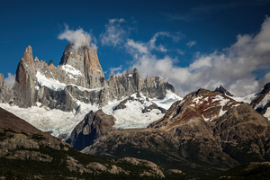 Argentina Mountains Clouds 5k Wallpaper