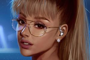 Ariana Grande Art 4k