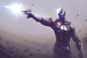 Arkham Knight Art
