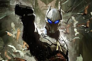 Arkham Knight Cover Art Wallpaper