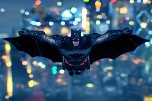 Arkham Knight Wings Open 4k