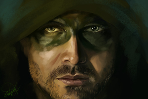 Arrow 4k Artwork