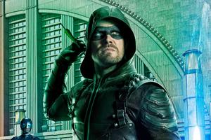 Arrow Season 5 Poster 4k Wallpaper
