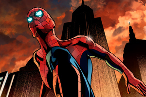 Art Amazing Spiderman Wallpaper