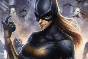 Art Batgirl New Wallpaper