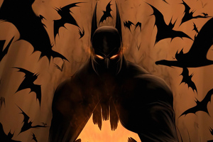 Art Batman Bats Wallpaper