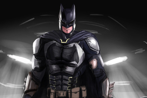 Art Batman New