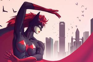 Art Batwoman
