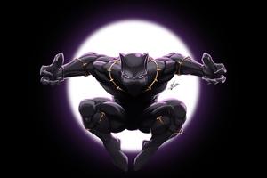 Art Black Panther Wallpaper